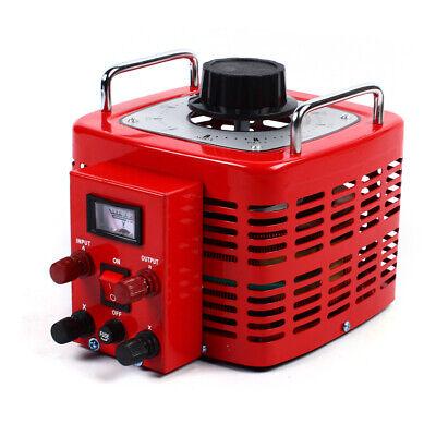 Variac Transformer Variable Ac Voltage Regulator 3000va 60hz Copper Coil 0130v