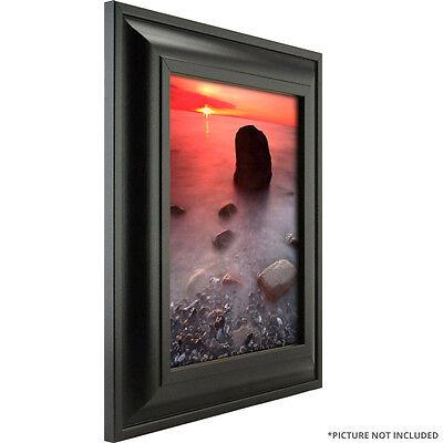 """Craig Frames 2"""" Wide Modern Black Wall Decor Picture Frames & Poster Frames"""