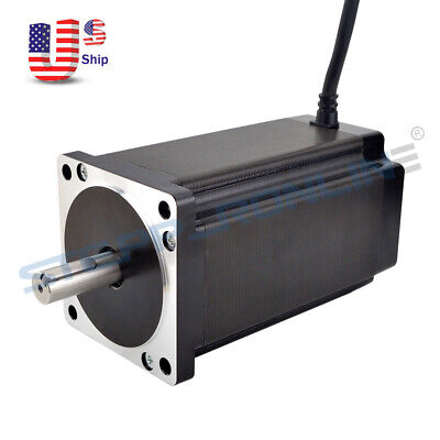 Nema 34 Stepper Motor 12nm1700oz.in 14mm Key Way Shaft 86x151.5mm 6a Cnc