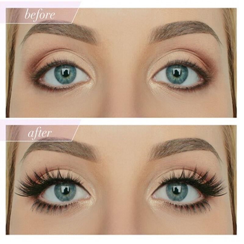 5 Pairs False Eyelashes Long Thick Natural Fake Eye Lashes ...