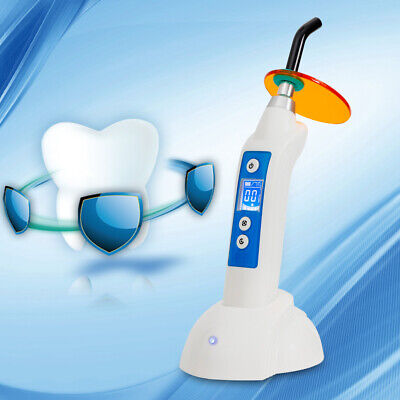 1800mw 5w Led-b Curing Lamp Dental Dentist Wireless Cordless Curing Light