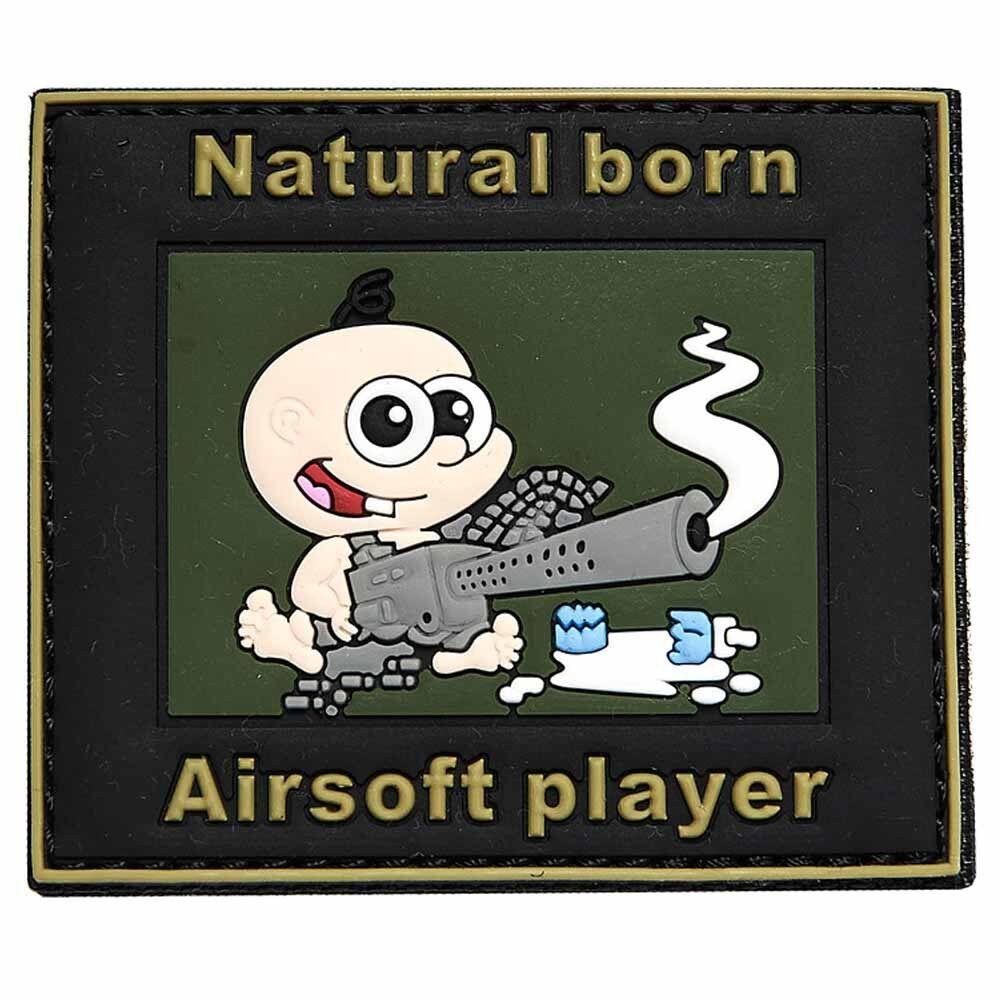 Funsport Airsoft Emblem 3D Rubber Patch Tactical Schwein oder Tactical Frosch Klett Aufnäher