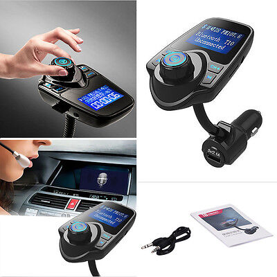 T10 LCD Bluetooth Car Kit Auto FM Transmitter MP3 Musik Player FM Transmitter