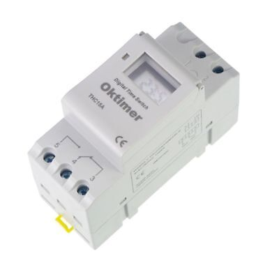 Din Rail Digital Programmable 110vac Timer Switch