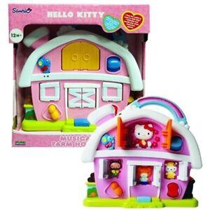Sanrio Hello Kitty Musical Music Farm House Kids Girls Toys Sounds Activity