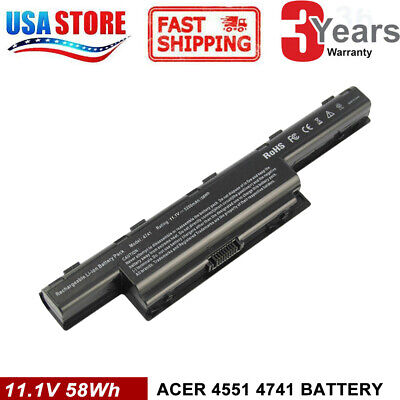 Battery for Acer Aspire 4739 4741 4743 4749 4750 4752 4755 4771 5250 5251 5253 G