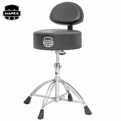 Four Leg Base Mapex T775 Drum Throne Saddle Seat /&Backrest