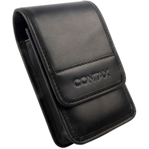 Leather Camera Bag Case Pouch For Contax TVS3 TVS2 TVS1 T2 T3 Point & Shoot 35mm