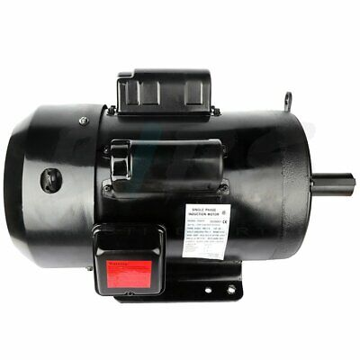 Air Compressor Electric Motor 7.5 Hp 215t Frame 1750 Rpm 1 Phase 208-230 Volt