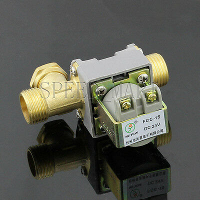 Dc24v Electric Solenoid Valve For Water 12 Electric Magnetic Valve 0mpa