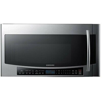 Samsung 30 in W 1.7 cu. ft. Over the Range Convection Microwave in Fingerprint R