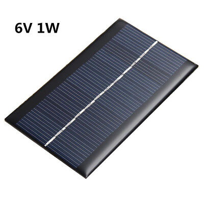Mini 6V 1W Solar Panel Power Module For Nimble Battery Cell Phone Charger DIY