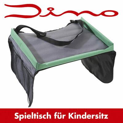 Auto Kindersitz Reisetisch Spieltisch Tisch für Kinder Sitz Stuhl Dino