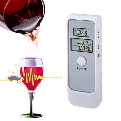 Handheld Digital Dual LCD Blood Alcohol Tester Analyzer Breathalyzer Detector $$