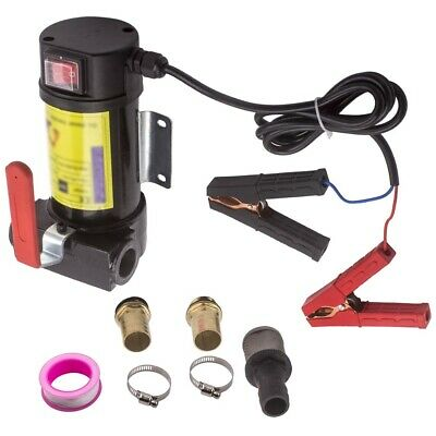 Portable 12v Dc Electric Fuel Transfer Pumps Diesel Kerosene Oil