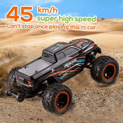 Linxtech 16889A 1/16 RC Car 45km/H Brushless Motor 4WD RC Race Truck Toy US O7G0