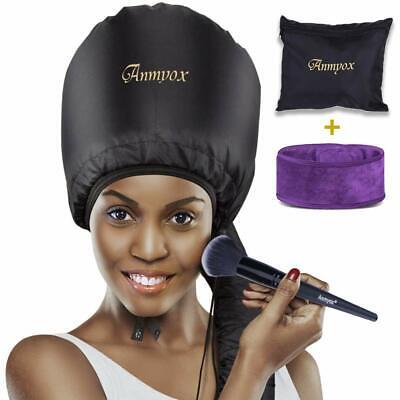 Sèche-cheveux Soft Bonnet Portable Hooded Conair Styling Cap Hood Vent, séchage rapide