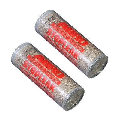 2 x Abro Heavy Duty Radiator Rad Car Cooling System Head Gasket Stop Leak Weld