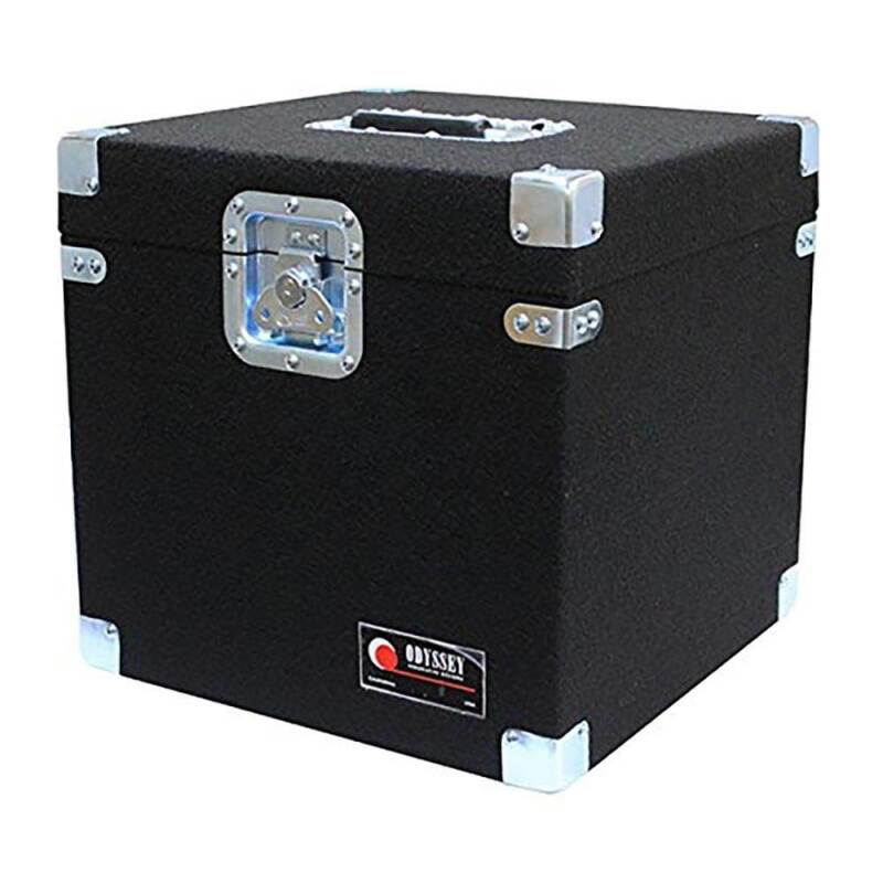 Odyssey Gear Carpeted Pro DJ Case for 100 12-Inch LP Vinyl Records (Open Box)
