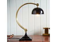 Medium Curve Study Lamp - Antique Brass...........Brand New