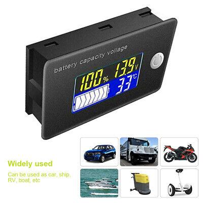 122448v Battery Capacity Status Lcd Digital Display Indicator Monitor Meter C