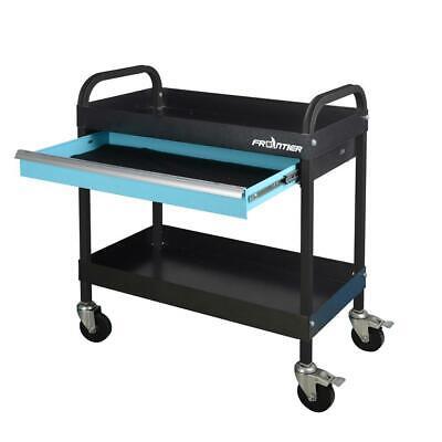 Heavy Duty Rolling Utility Tool Cart Mechanic Garage Shop To