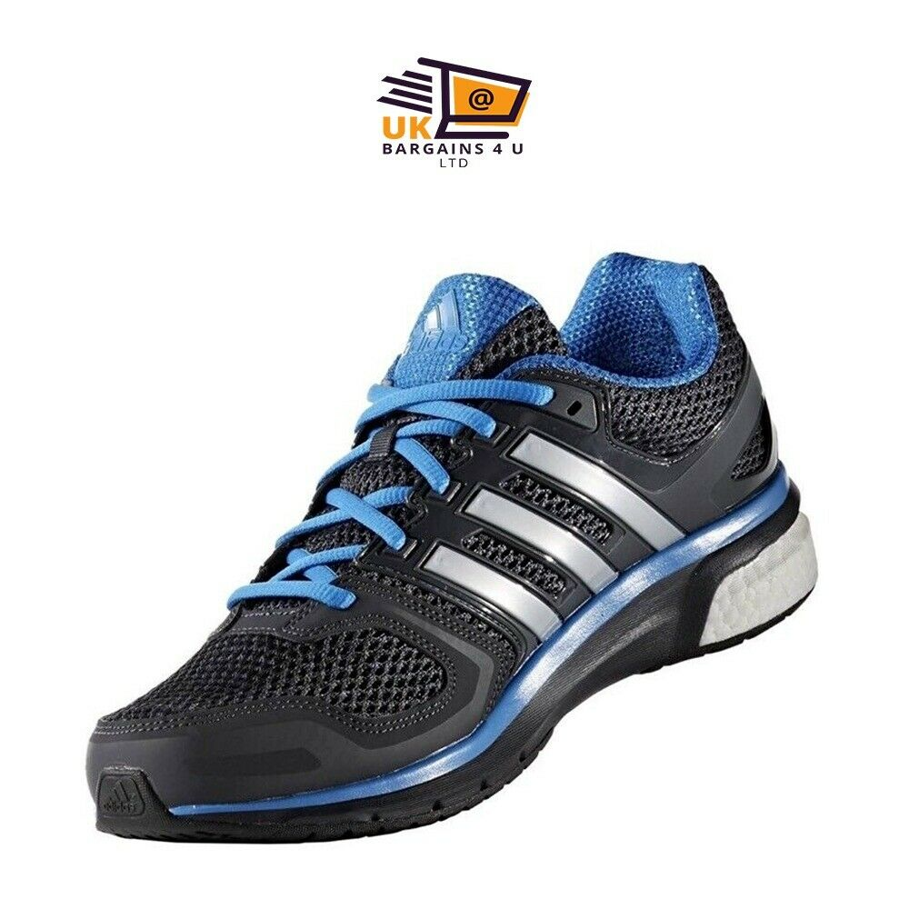 best sneakers 198ea c4dd0 Adidas QUESTAR running shoes men Trainer BA9305 BLUE - BLACK