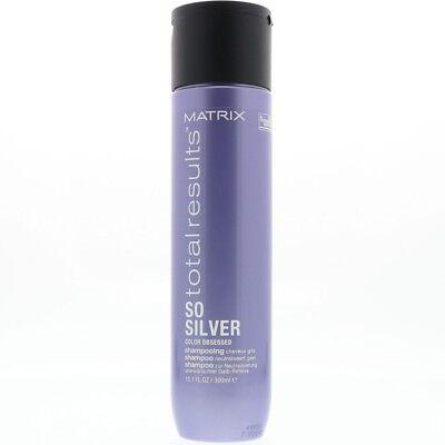Matrix Total Results Color Obsessed So Silver Purple Shampoo, 10.1 oz