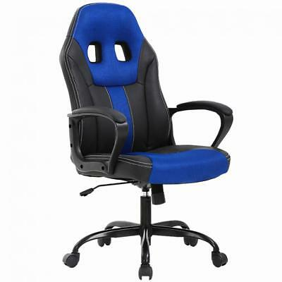Home Office Chair Ergonomic Executive Pu Leather Gaming Chair Rolling Desk Chair