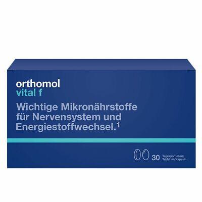 Orthomol Vital F Pastillas/Cápsulas, 30 Porciones Diarias, 1319620