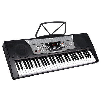 61 Key Music Electronic Keyboard Electric Digital Piano Organ USB Compatible