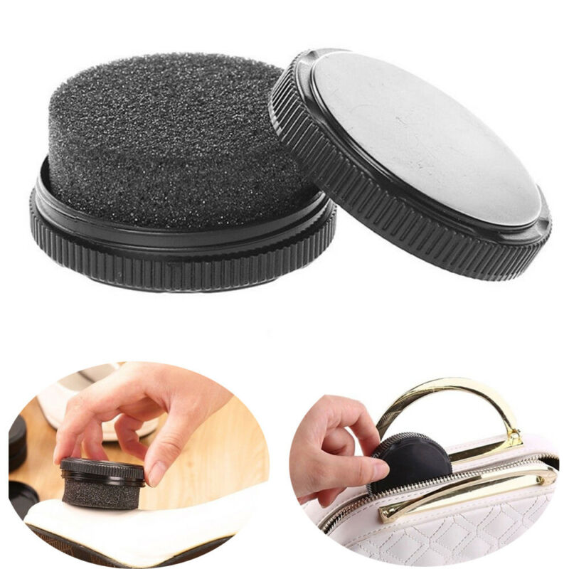 Quick Shine Shoes Shine Sponge Brush Polish Dust Cleaner