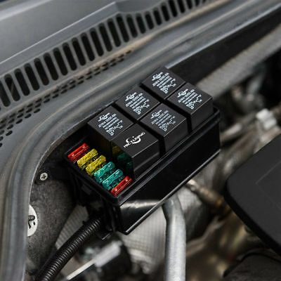 Incredible Auto Fuse Relay Box Basic Electronics Wiring Diagram Wiring Digital Resources Instshebarightsorg