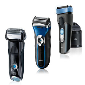 Braun Series 3 & 5 Electric Shavers with Wet & Dry Functionality from
