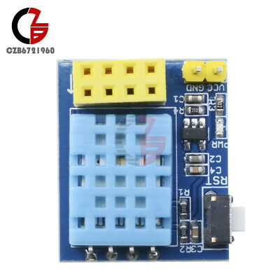 Esp-01esp-01s Dht11 Temperature Humidity Sensor Adapter Shield Wifi Esp8266