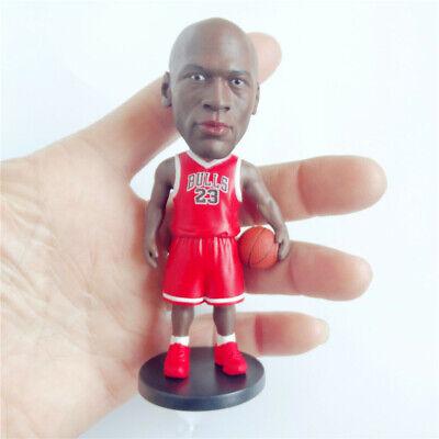 Basketball Star Chicago Bulls MVP #23 Michael Jordan figure doll 10cm