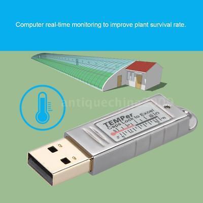 Pcsensor Temper Usb Thermometer Temperature Sensor Data Logger Recorder Laptop