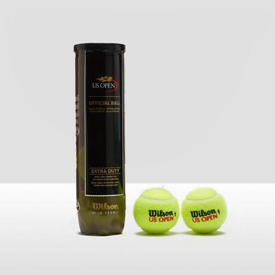 Wilson US Open Tennis Balls (4 Ball Can) Natural