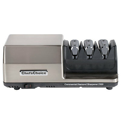 Edgecraft Chef's Choice 2100 3 Stage Diamond Hone Professional Knife Sharpener