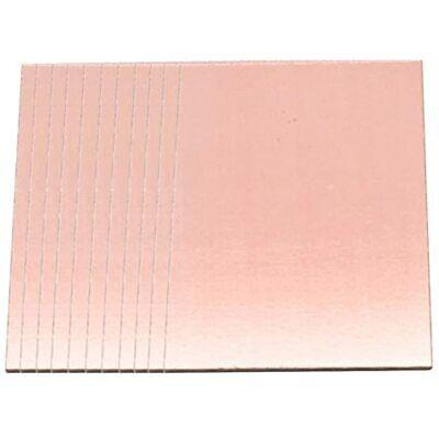 Dasunny 10 Pcs Single Sided Copper Clad Laminate Pcb Small Fr4 Circuit Board X