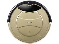 Pathfinder vacuum cleaner robot. Remote control - self charging (Gold)