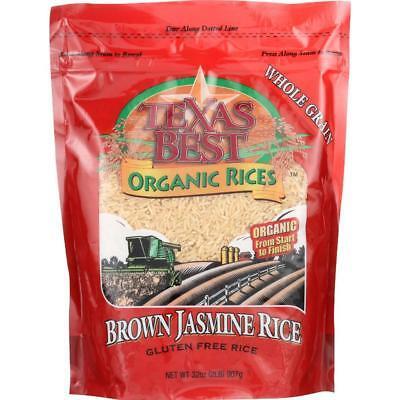 Texas Best Organics-Jasmine Brown Rice (6-32 oz