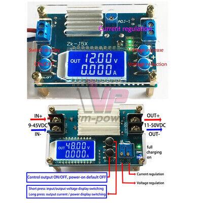 5a Dc Digital Lcd Buck Boost Converter Cc Cv Step-updown Power Module W Shell