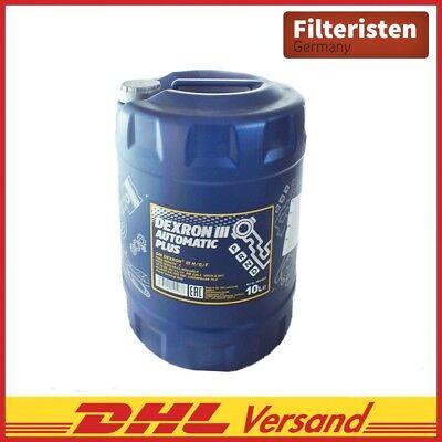 10 Liter Mannol Getriebeöle dexron iii automatic plus MN8206-10