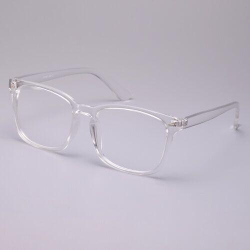 Vintage Men Women Transparent Eyeglass Frame G Spectacles