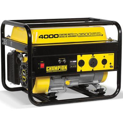 Champion 46596 - 3500 Watt Portable Generator W Rv Outlet 49-state