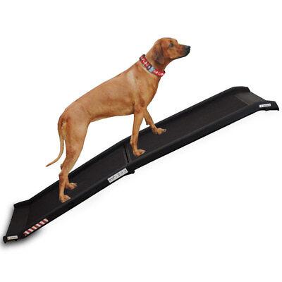 Tragbare Rampe (Klappbare Hunderampe Einstiegshilfe Transport Hundeeinstieg Hundeleiter Pkw Auto)