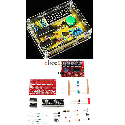1hz-50mhz Crystal Oscillator Tester Frequency Counter Diy Kits Meter Wcase
