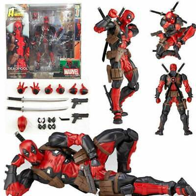 Legends Marvel X-men No.001 DEADPOOL Action Kaiyodo Figure Revoltech Gift Toy UK