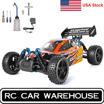 HSP RC Car 4wd 1:10 Off Road Buggy Nitro Gas Two Speed RTR Remote Control Tools
